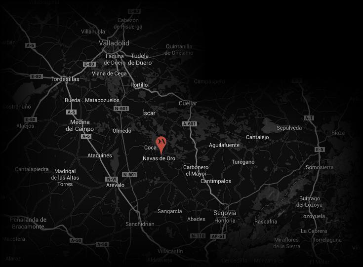 Contacto - Las dos Antiguas Mapa de localización