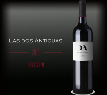 Las Dos Antiguas botella origen 2013