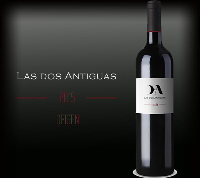 Las Dos Antiguas botella origen 2015