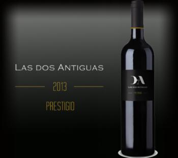 Las dos Antiguas botella prestigio 2013
