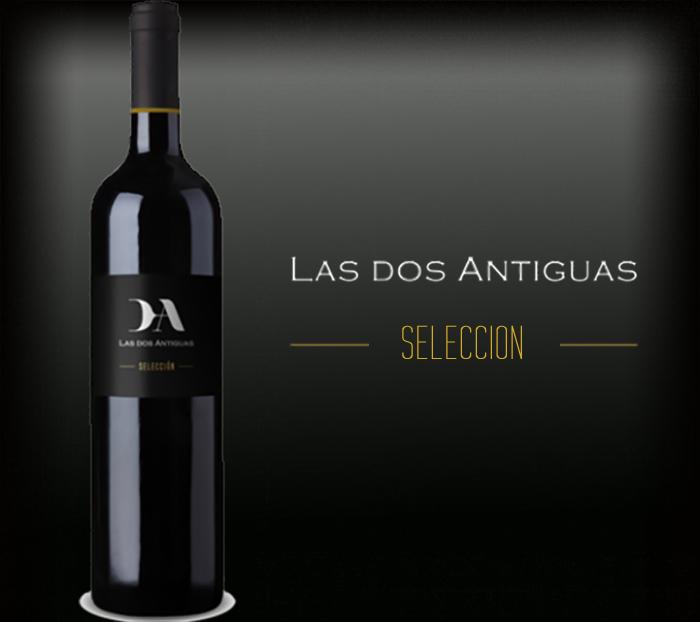 Las dos Antiguas botella de vino selección
